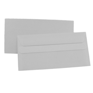 Set plicuri DL 110X220 alb, autoadeziv, 100 bucati