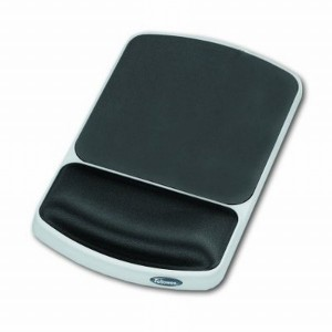 Mousepad ergonomic Fellowes, gri