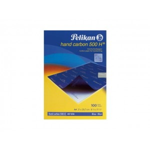 Indigo Pelikan A4, 100Coli/Top, albastru