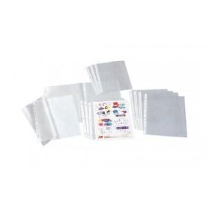 Set folii protectie Polyking A4, cristal, 50 microni