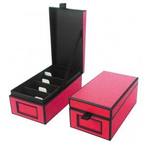 Cutie carti de vizita, roz
