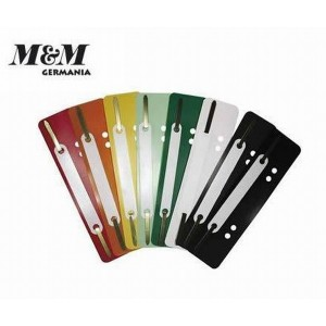 Set alonje indosariere M&M din plastic, cu sina, 25 bucati