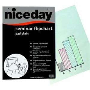 Hartie flipchart alba 20 coli/top 50g Nice Day