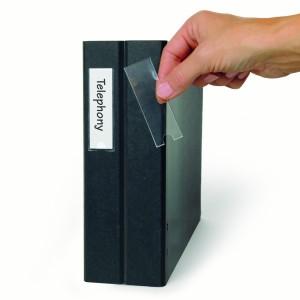 Set buzunare adezive 3L pentru etichete 25 x 75mm