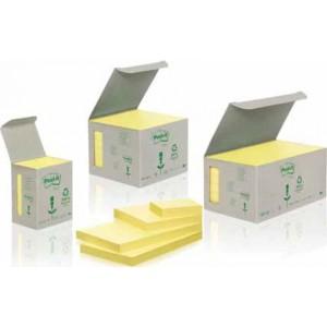 Set notite adezive 3M reciclate 75 x 127, 6 bucati
