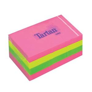 Set notite adezive 3M Tartan, 51 x 38, 3 bucati
