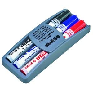 Kit burete cu 3 markere pe suport Bi-Silque
