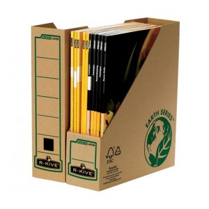 Suport pentru revisteFellowes, R-Kive Earth Series reciclat