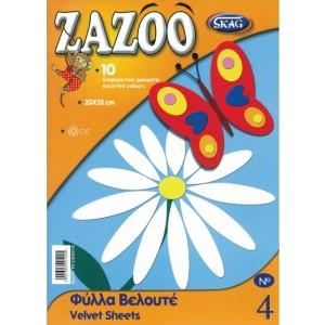 Hartie pentru colaje Zazoo catifea
