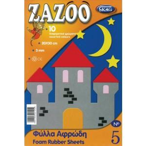 Hartie pentru colaje Zazoo spuma cauciucata