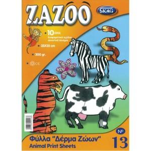 Hartie pentru colaje Skag Zazoo animale