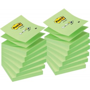 Notite adezive 3M Post-It Z, R330 neon verde