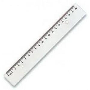 Rigla transparenta 20 cm