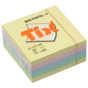 Cub notes adeziv Aero 51 x 51 pastel