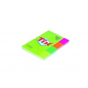Notes adeziv Aero 4 culori neon