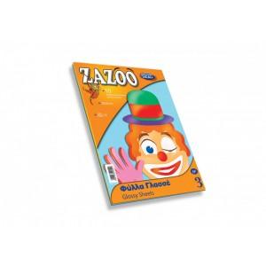 Hartie Zazoo glossy A4 10coli/set Skag