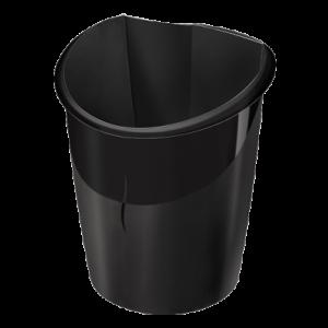 Cos CEP Ellypse pentru hartii 15 litri, negru