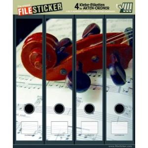 Etichete pentru bibliorafturi Filesticker