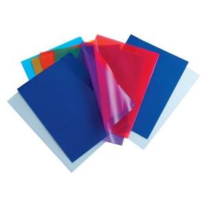 Set mape de protectie din plastic Noki transparente, 100 bucati