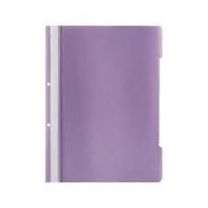 Dosar plastic Noki A4 cu sina si perforatii, violet
