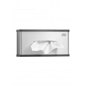 Dispenser servetele faciale aluminiu Tork