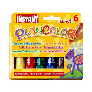 Tempera Solida Instant Play Color 6 culori