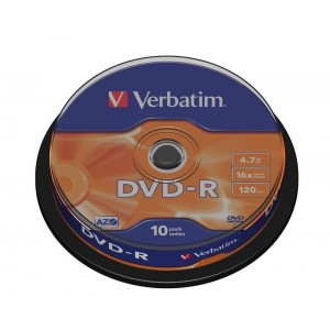 DVD-R advanced azo 10buc/bulk Verbatim