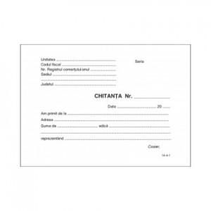 Chitantier A6 100 file / carnet