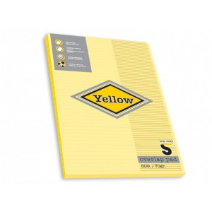 Bloc Notes Skag Yellow A4, 50 file dictando