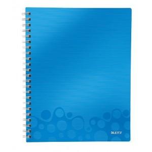 Caiet de birou Leitz Wow Get Organized A4, 80F matematica