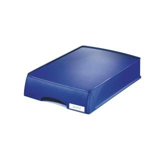 Tavita cu sertar Leitz Plus, albastra