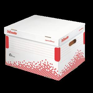 Container pentru arhivare bibliorafturi Esselte Speedbox E