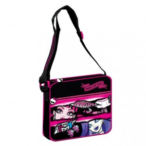 Geanta de umar Starpack Monster High II 49-38, neagra