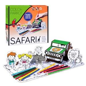 Set desen Starpack Safari pentru colorat