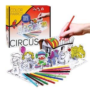 Set desen Starpack Circus pentru colorat