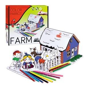 Set desen Starpack Farm pentru colorat