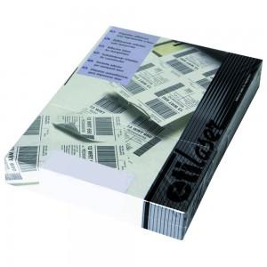 Etichete autoadezive Etilaser 10/A4, albe