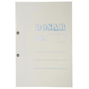 Dosar cu capse 1/1, carton alb