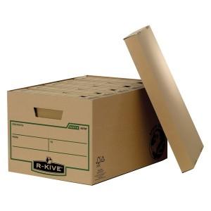 Container arhivare Fellowes R-Kive din carton reciclat pentru 5 cutii