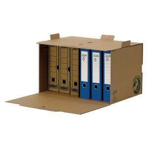 Container arhivare Fellowes R-Kive din carton reciclat, pentru 6 cutii