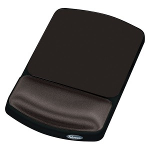 Mousepad ergonomic Fellowes, negru