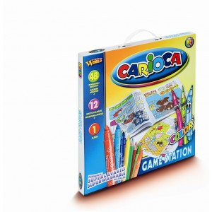 Set de colorat Carioca Game Station