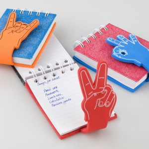 Mini jurnal Thinking Gift, degete