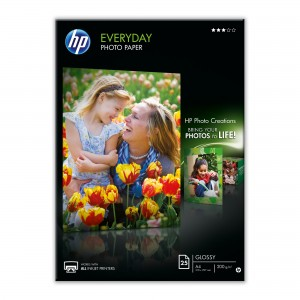 Hartie foto Semi-Glossy HP, A4 170g/mp