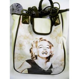 Geanta cu imprimeu Marilyn Monroe Vintage