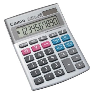 Calculator de birou Canon LS103TC, 10 digiti