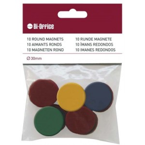 Set magneti Bi-Silque, diverse culori