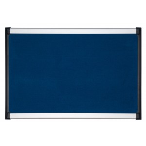Panou textil Bi-Silque ProVision, 60 x 90cm, albastru