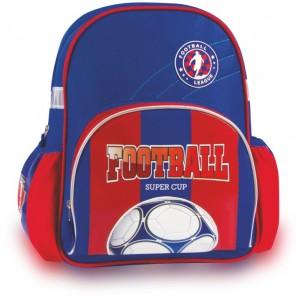 Rucsac Colorino Fotbal cu 1 compartiment, albastru