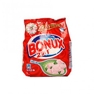 Detergent manual Bonux 2 in 1 Rose, 400gr
